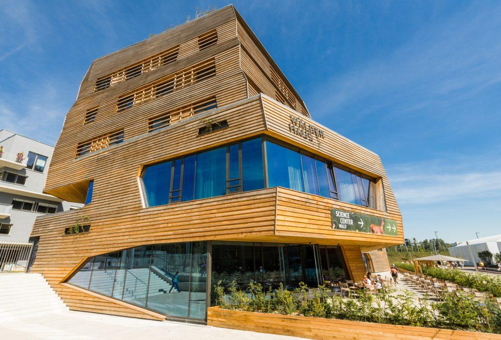 Wälderhaus Hamburg - Holz ein nachhaltiger Rohstoff